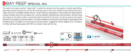 JIG BAY REEF SPECIAL IKA 210cm-100g 161-48-210 trab.