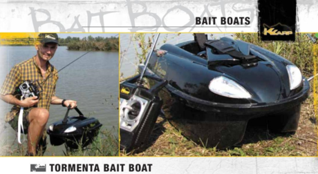 BLACK QUEEN BAIT BOAT 190-72-050 KARP