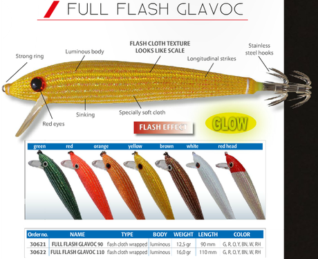 WOBLER FULL FLASH GLAVOČ-11cm-30622 DTD