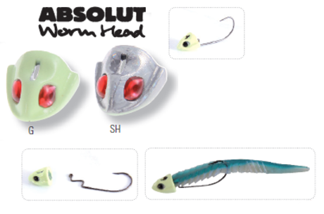 HART ABSOLUT 2XWORM SET 12gr-IHAWH12G