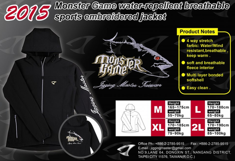 J.M. 2015 MONSTER GAME JAKNA-XXL