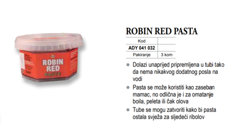 DB PASTA ROBIN RED-DY1032