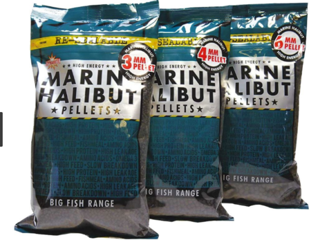 DB MARINE HALIBUT PELLETS 4mm/900gr-DY091