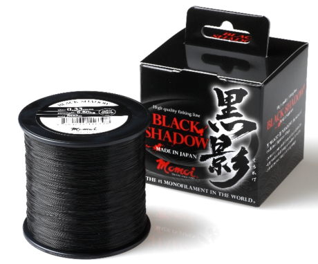 MOMOI BLACK SHADOW CARP NYLON1000m-0.33mm-T.RJAV