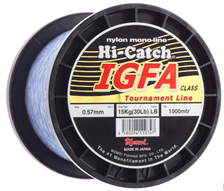 MOMOI HI-CATCH I.G.F.A.BIG GAME NYLON 1000m-1.17mm/130lb-SV.MODER