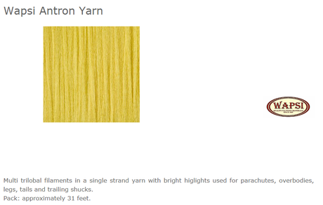 ANTRON YARN-GOLDEN YELLOW AY010