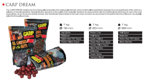BOILI CARP DREAM HELL SPICE 20mm