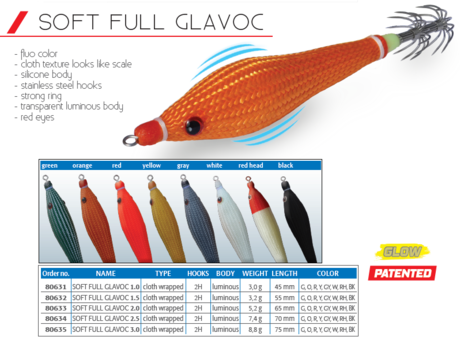 SOFT FULL FLASH GLAVOČ 1092 2.5  DTD