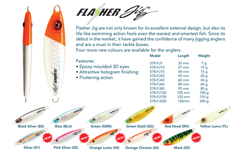 JIG FLASHER-40g-S-SUR.C