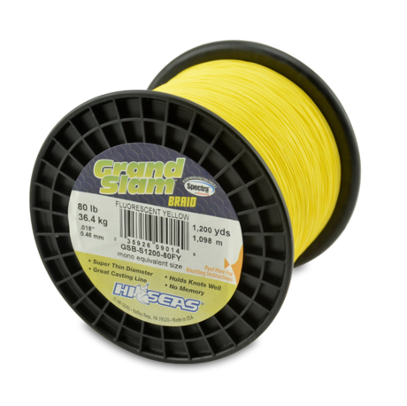 GRD SLM BRAID-0.46mm 80LB-1200YD-FY.YEL