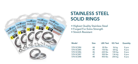 SOLID RINGS INOX-4-SUR.C