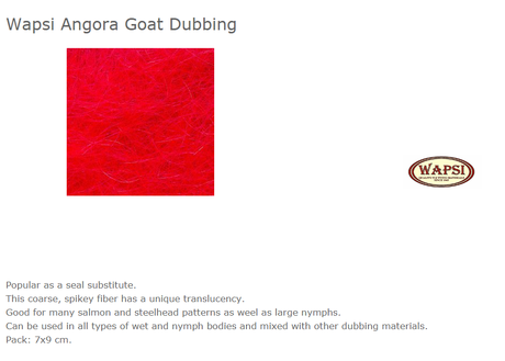 ANGORA GOAT-RED AG056